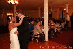 Wedding Dance in the Olde North Chapel Banquet Hall